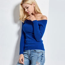 Casual Off the Shoulder Sweater