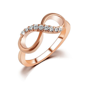 Glamour Infinity Ring