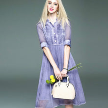 Cheery Shirt Dress