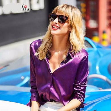 Seriously Chic Satin Shirt