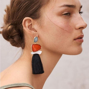 Playful Tassel Earrings
