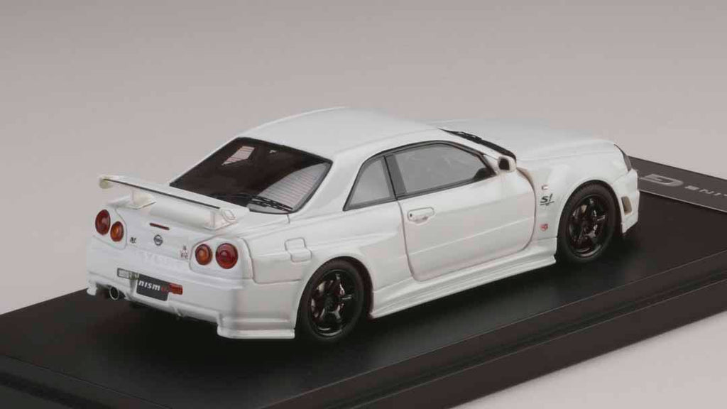 Mark43 Models Nismo R34 S-Tune White PM4301NW 1/43 – Scale Junkies