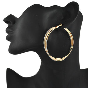 New Big Hoop Earrings 60mm Hoop Earrings