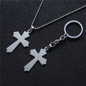 Popular Stainless Steel Keychain Pendant Necklace Suspension