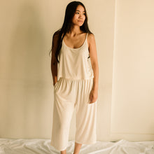 The Relaxed Bamboo Crop Pant