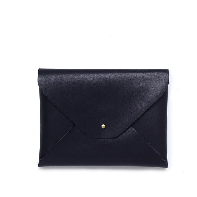 The Envelope Clutch - Black