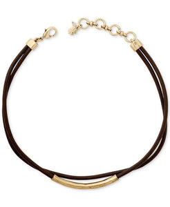 Sleek Brown Choker
