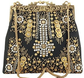 Antique Gold Bag