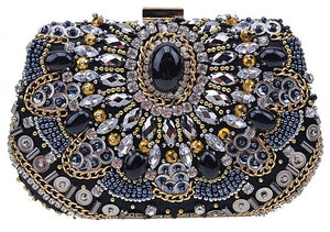 Beaded Antique Clutch