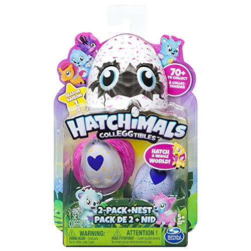 "6034164 ""colleggtibles With Nest"" Playset (pack Of 2) By Hatchimals"
