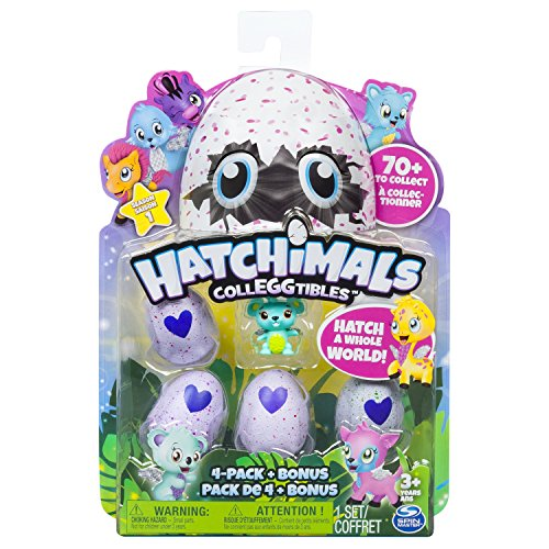 Colleggtibles 4 Pack + Bonus Character 6034167 By Hatchimals