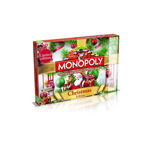 Monopoly Board Game 024358 Christmas By Winning Moves