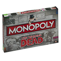 Themonopoly Board Game 21470 Walking Dead By Winning Moves
