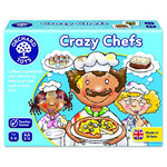 Crazy Chefs 017 Pack Of 1 Orch017 5011863101044 By Orchard Toys
