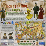 Ticket To Ride Europe Dow 7202 Pack Of 1 Blue By Days Of Wonder