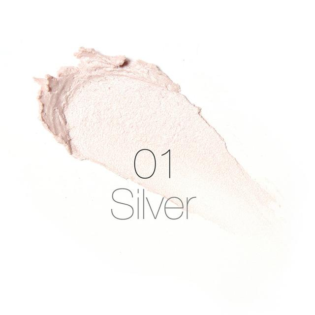 Creamy Texture Water-proof Silver Shimmer Light