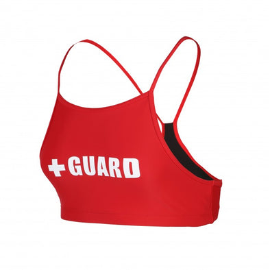 Women's Red Lifeguard Swimsuit, Lifeguard Bikini, Lifeguard Bathing Suit, Lifeguard Swimwear, Lifeguard Suit, Lifeguard 1PC Swimsuit, Lifeguard 2PC Swimsuit, www.JustLifeguard.com
