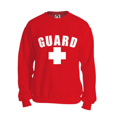 Lifeguard Crew Neck Sweatshirts - JustLifeguard