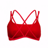 Women's Lifeguard Swimsuit Double Cross Top - JustLifeguard