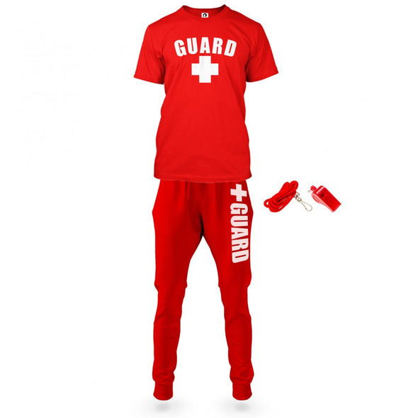 Men's Halloween Lifeguard Costumes II - JustLifeguard