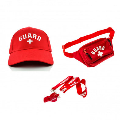 Lifeguard Costume Accessories Kit - JustLifeguard