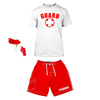 Women's Crop Lifeguard Costume