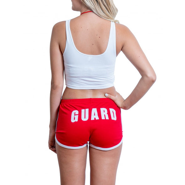 Women's Halloween Lifeguard Costumes, Lifeguard Shorts, Lifeguard Tank Tops, Lifeguard Whistles, and it's great for halloween lifeguard costume party.