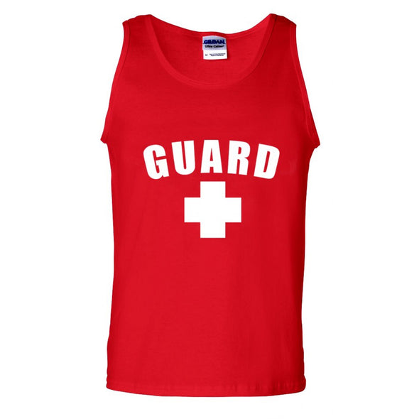 Men's Lifeguard Tank Top - JustLifeguard