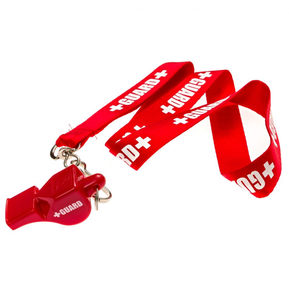 Lifeguard Lanyard Whistle w/ Print - JustLifeguard