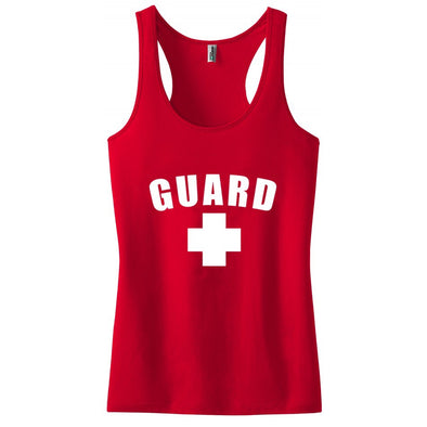 Women's Lifeguard Tank Top - JustLifeguard
