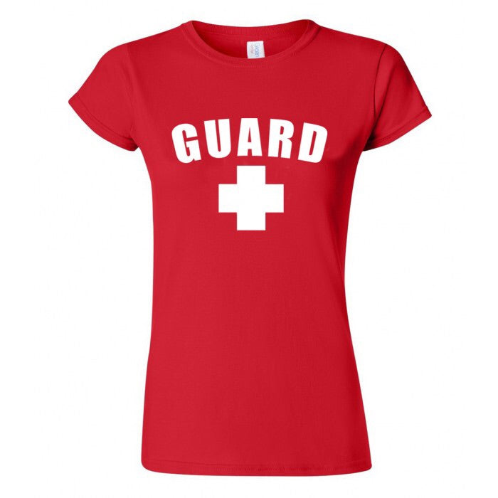 Women's Lifeguard T-Shirt - JustLifeguard