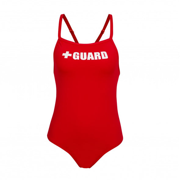 Women's Lifeguard Swimsuit - JustLifeguard