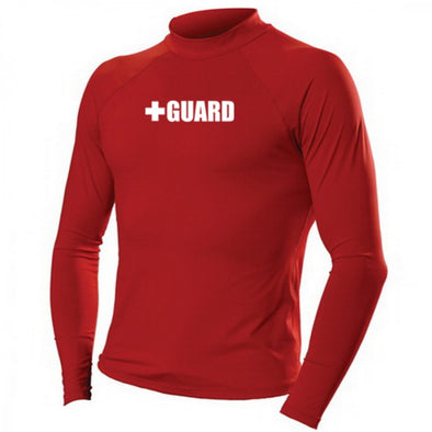 Men's Lifeguard Rashguard - JustLifeguard