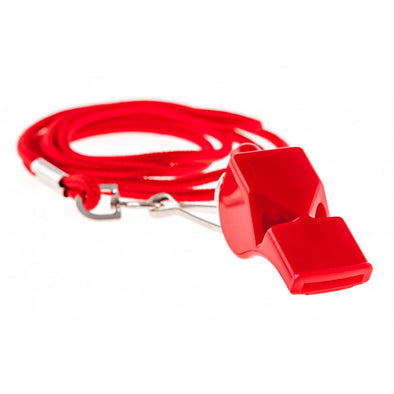 Lifeguard Whistle with Lanyard - JustLifeguard
