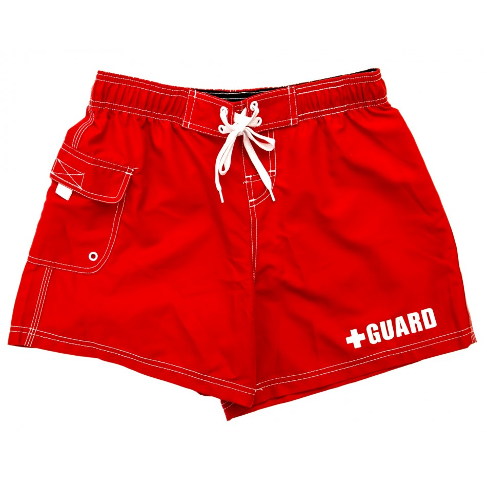 Women's Lifeguard Board Shorts - JustLifeguard