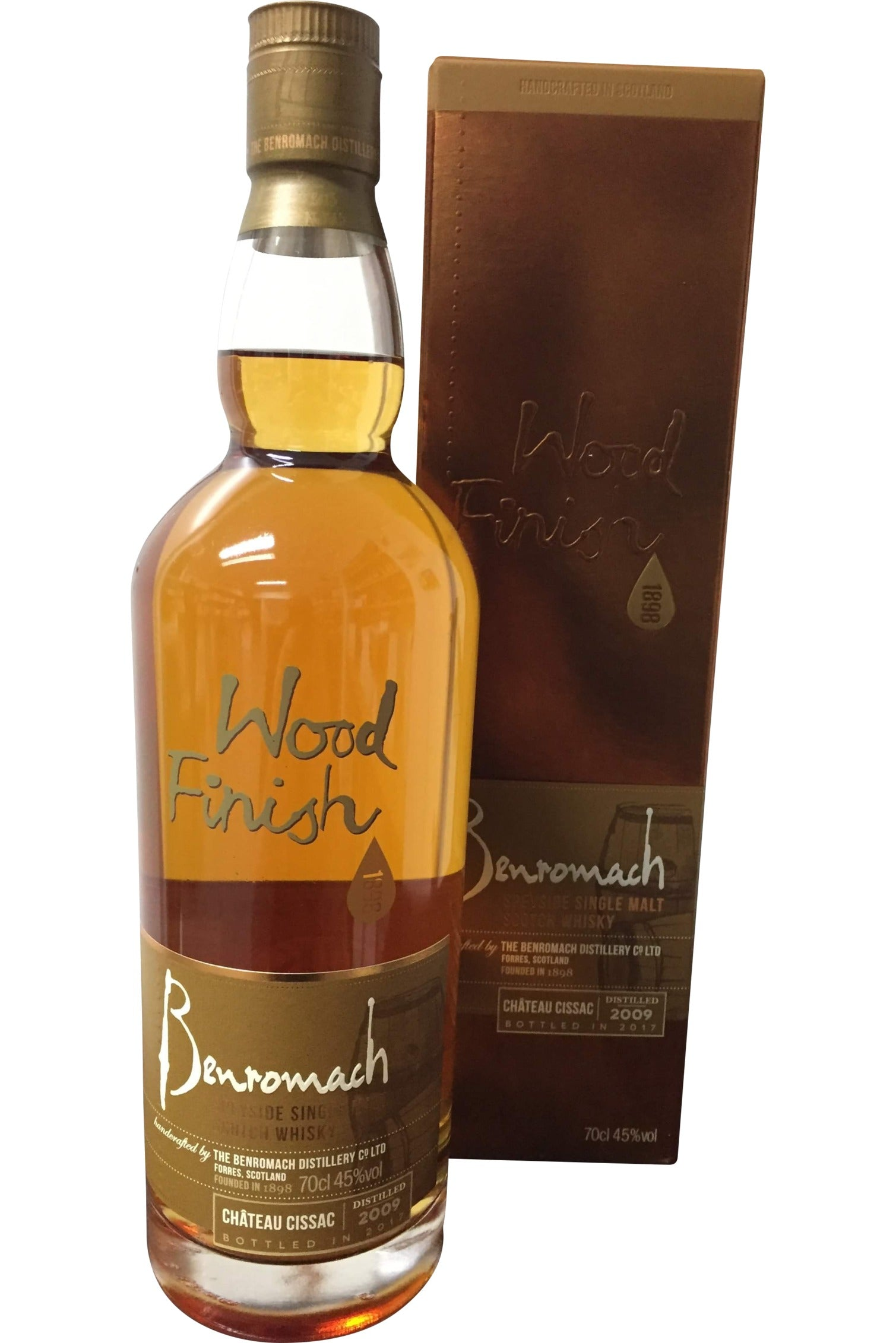 Benromach 2010 Chateau Cissac Bordeaux Whisky  45% 700ml