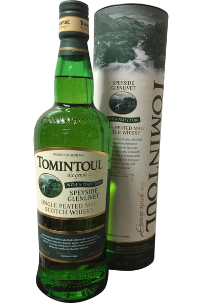 Tomintoul With A Peaty Tang Whisky - 40% 700ml