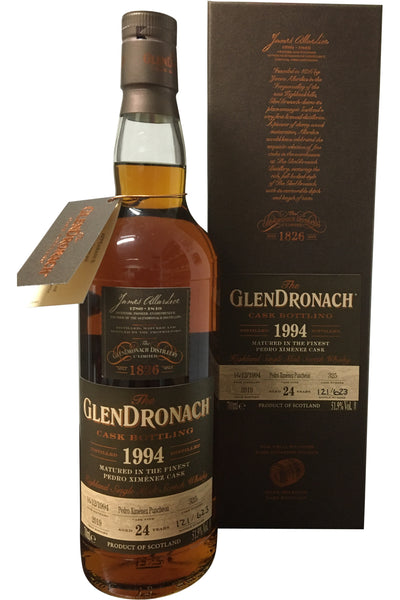 Glendronach 1994 24 Year Old Single Cask #325 | 51.9% 700ml