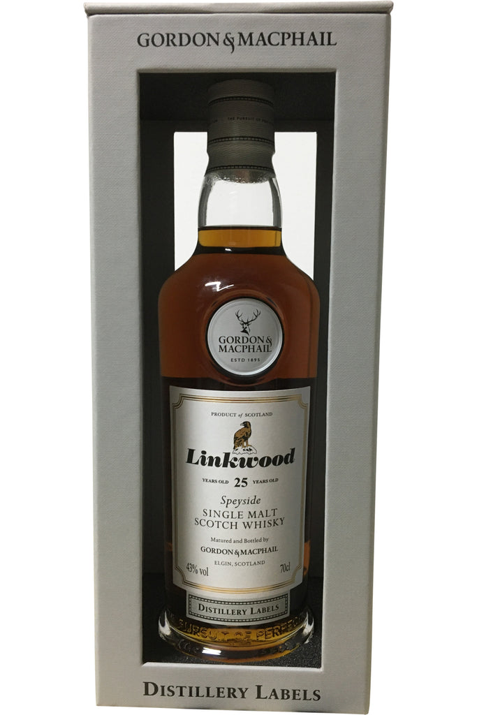 Gordon & Macphail Linkwood 25 Year Old Distillery Labels - 43% 700ml  Whisky