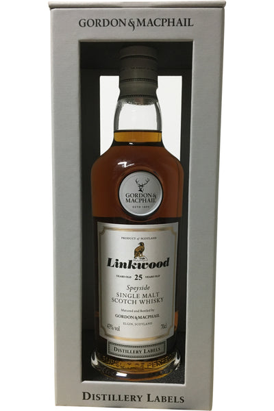 Gordon & Macphail Linkwood 25 Year Old Distillery Labels - 43% 700ml