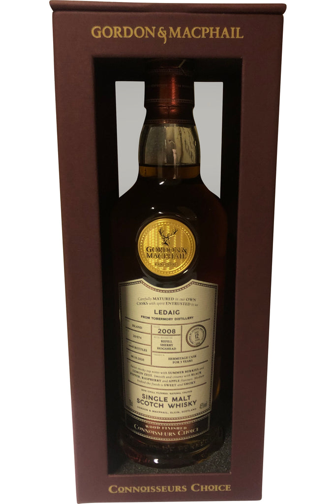 Ledaig 2008 Hermitage Cask Connoisseurs Choice 45% 700ml