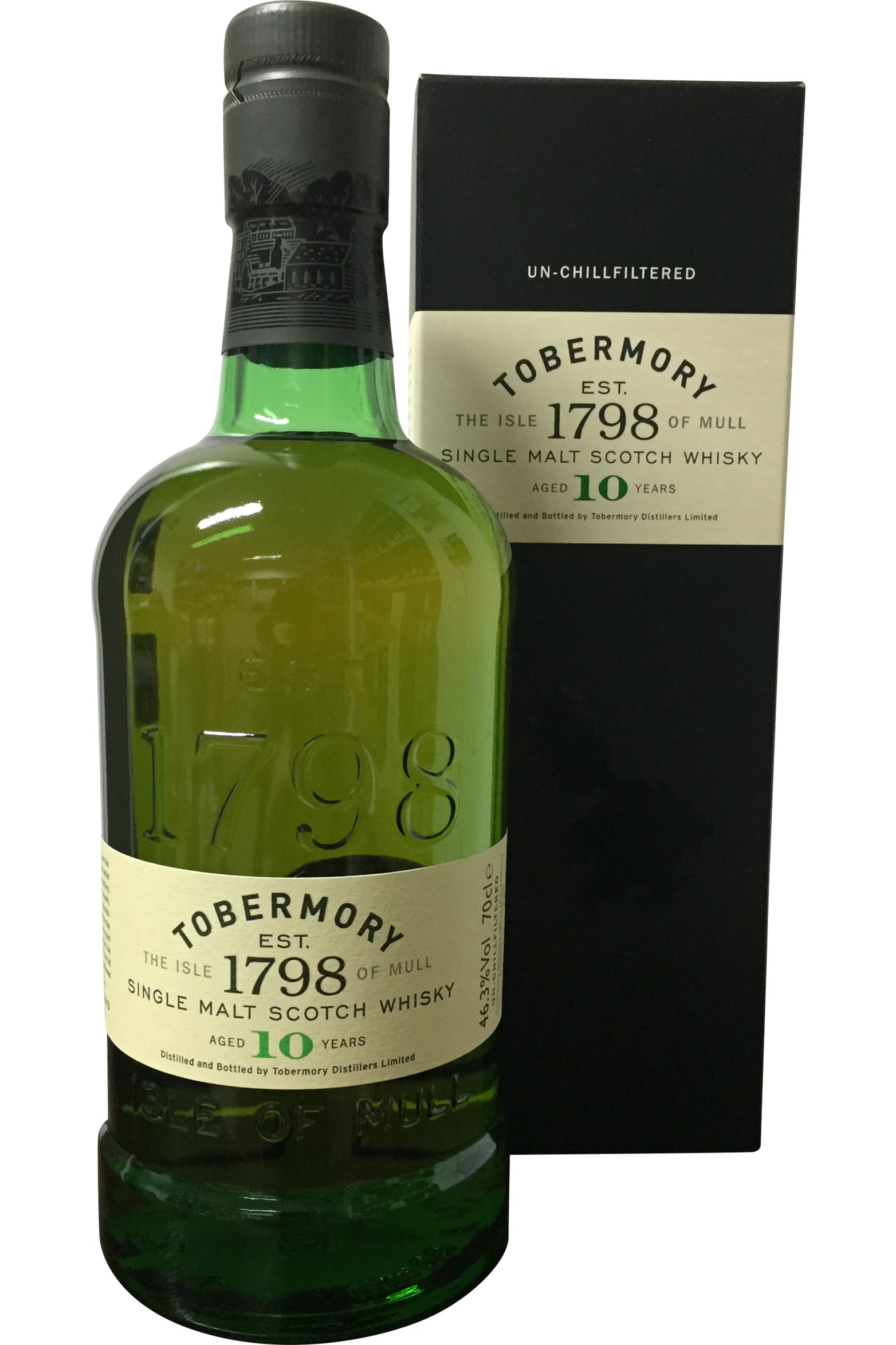 Tobermory 10 Year Old - 46.3% 700ml