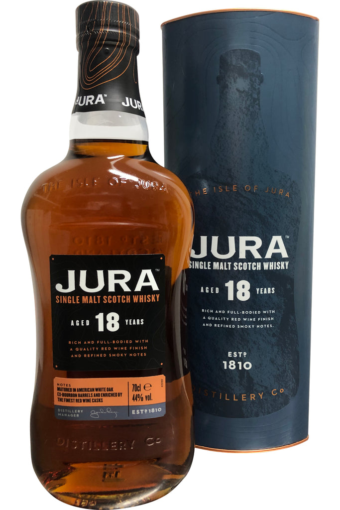 Jura 18 Year Old - 44% 700ml  Whisky