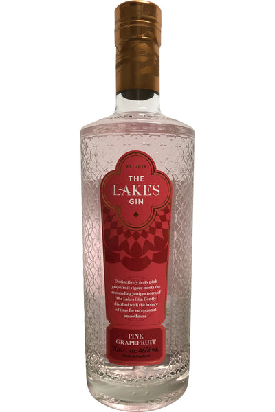 The Lakes Pink Grapefruit Gin 46% ABV 700ml