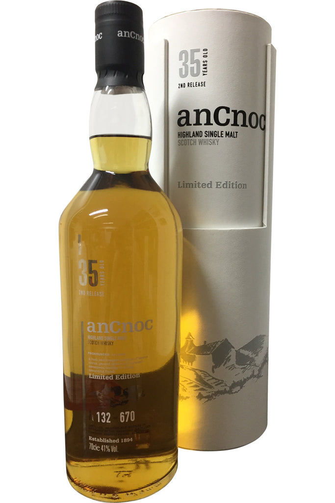 anCnoc 35 Year Old 2nd Release Limited Edition Whisky | 41% 700ml  Whisky