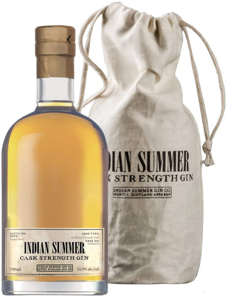 Indian Summer Cask Strength Gin Ex Sherry Tomatin  Cask | 51.0% 700ml