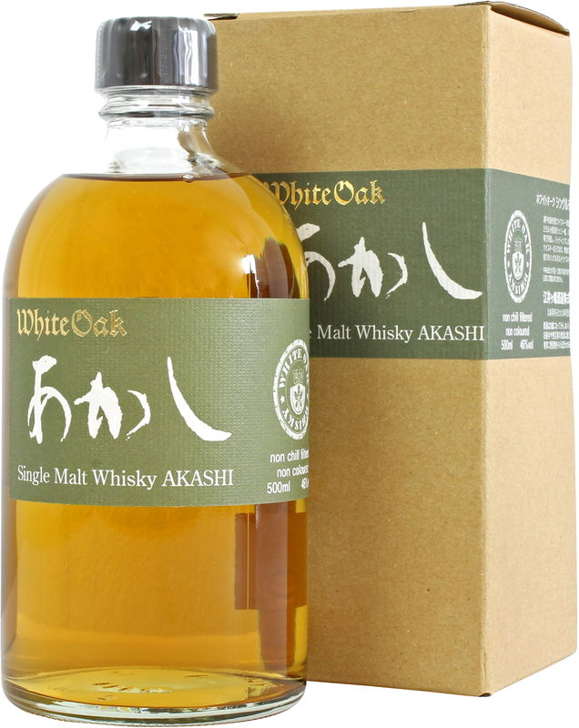 Eigashima Shuzo (Akashi) White Oak| 46.0% 500ml  Whisky