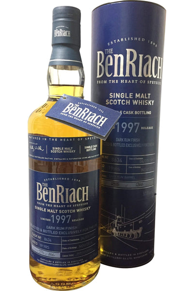 Benriach 1997 19 Year Old Single Cask #8634 - 50.8% 700ml