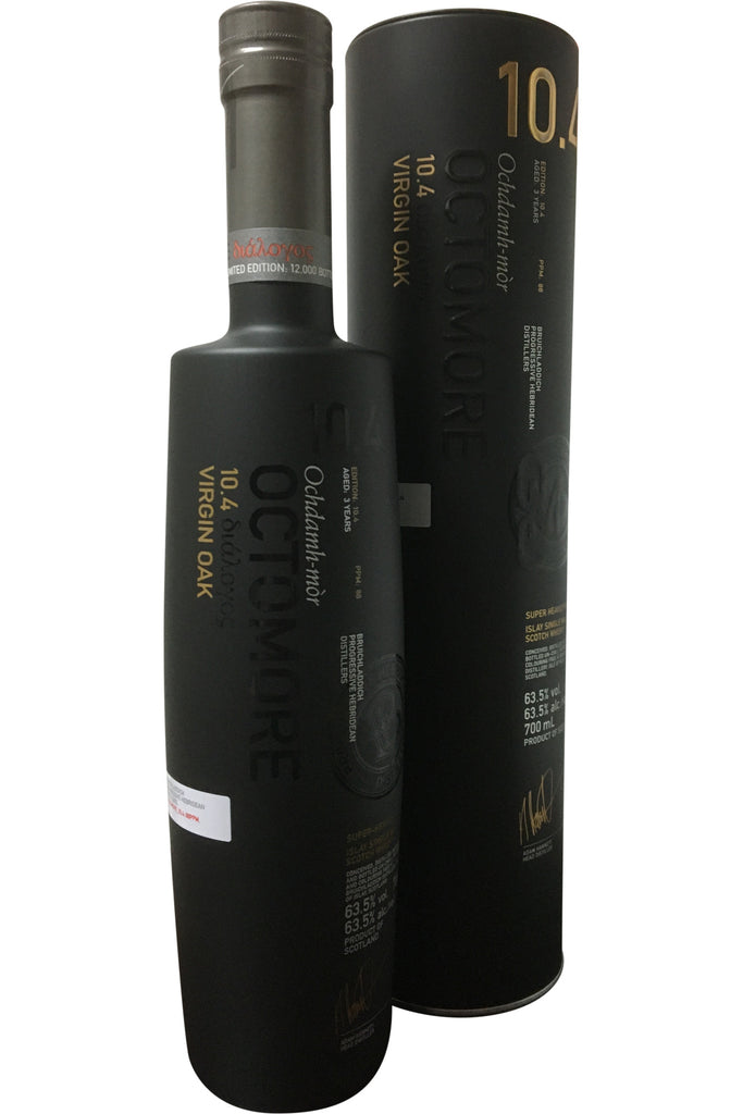 Bruichladdich Octomore Edition 10.4 Virgin Oak Aged 3 Years - 63.5% 700ml  Whisky
