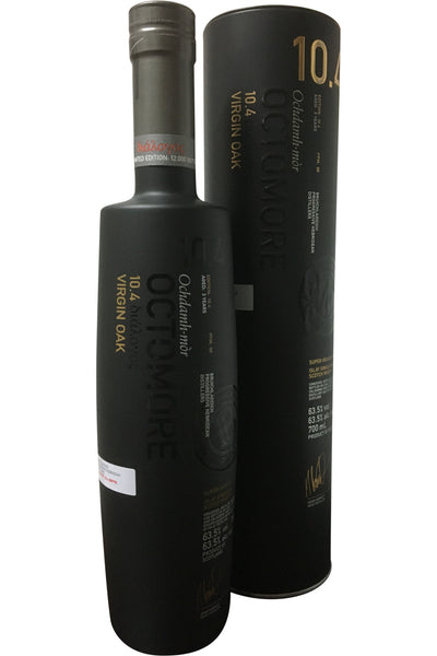 Bruichladdich Octomore Edition 10.4 Virgin Oak Aged 3 Years - 63.5% 700ml